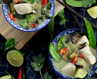 Thai Green Curry nach Jamie Oliver