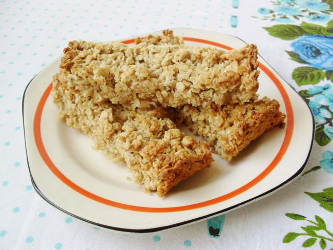 Sugar Free Coconut Flapjacks