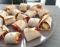 Pizza wrap rolls