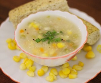 Recipe : Veg Sweet Corn Soup