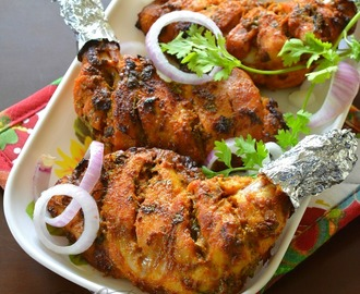 Kalmi Kebab | Chicken Tandoori Recipe | How to make Chicken Tandoori at home