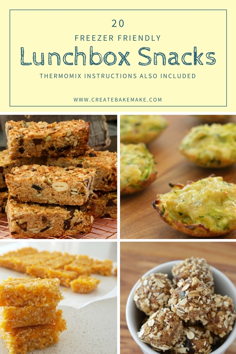 Freezer Friendly Lunchbox Snacks for Kids
