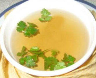 Coriander Lemon Soup