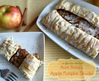 Aunt Anna's Apple Pumpkin Strudel