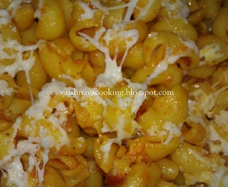 MACARONI WITH CHEESE (INDIAN STYLE)