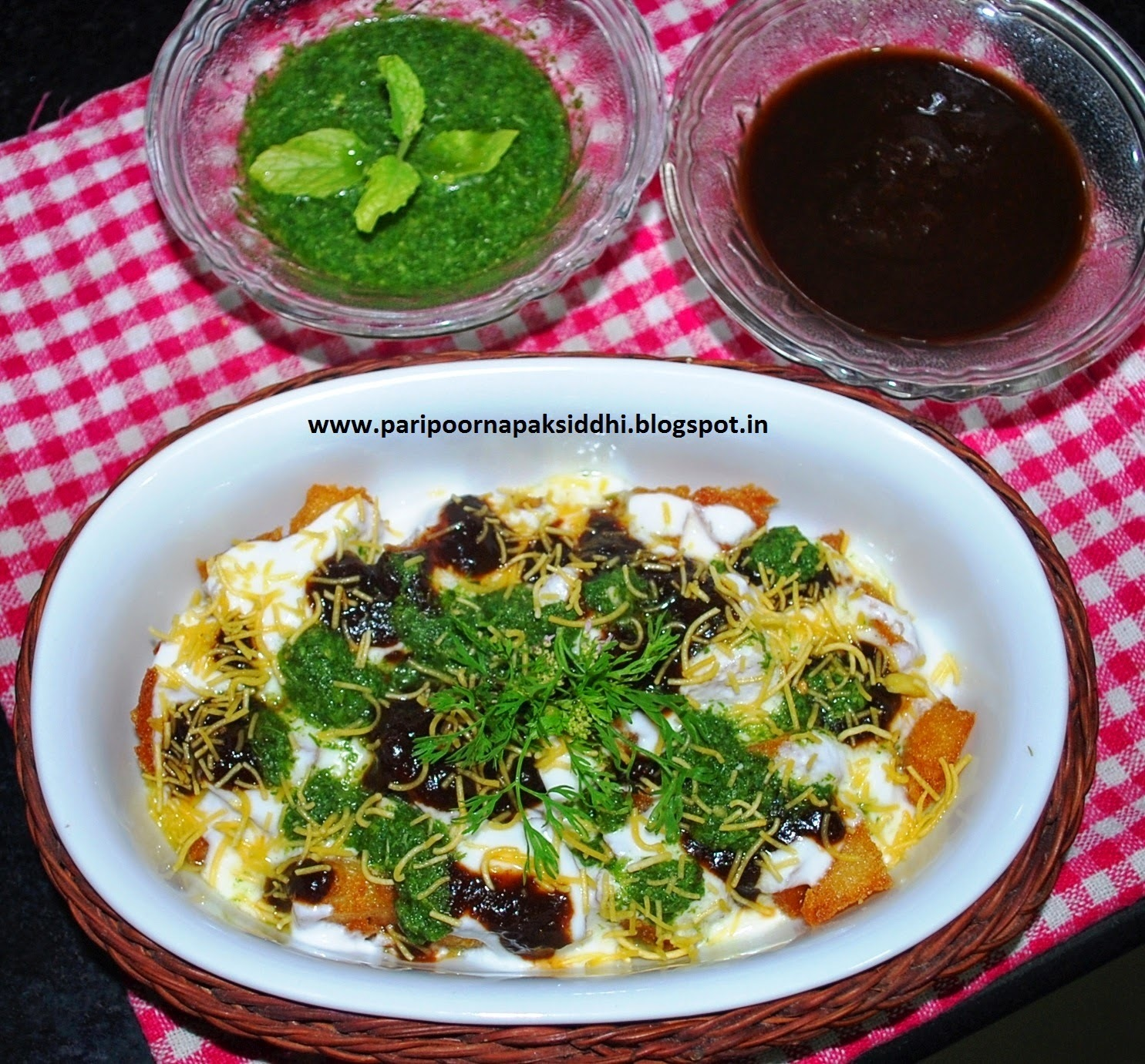 FRIED IDLI DAHI CHAAT