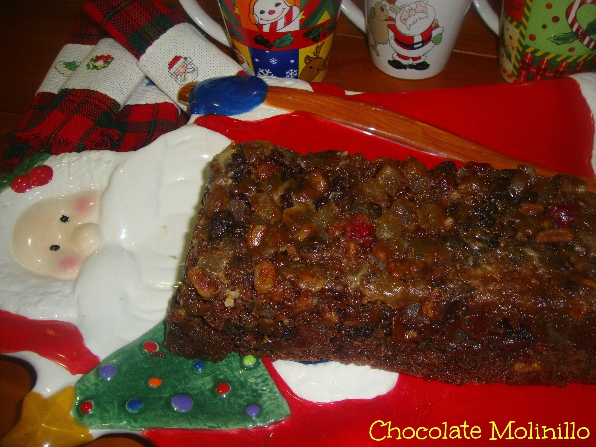 Fruit Cake al estilo Chocolate Molinillo