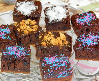 Texas Style Buttermilk Chocolate Sheet Cake Brownies