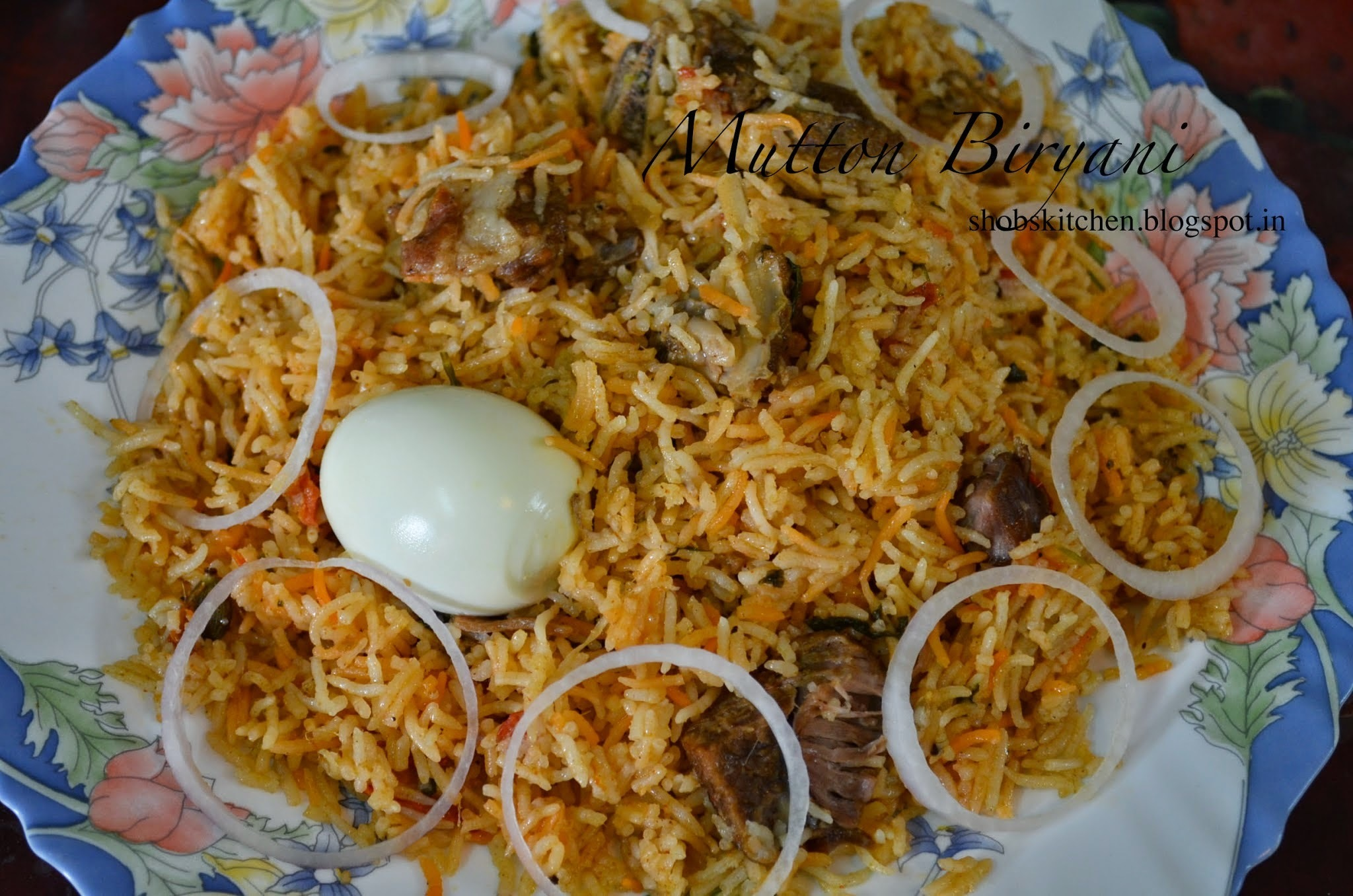 Mutton Biryani - Pressure Cooker Method