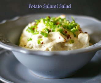 Potato Salami Salad - Creamy Deliciousness