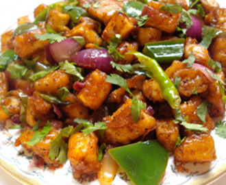 How To Make Chilli Paneer (Recipe of Chilly Paneer)