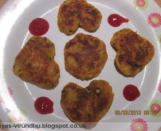 Aloo Tikki/ Potato Cutlet