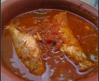Sankara Meen Kuzhambu / Red Snapper Fish Curry
