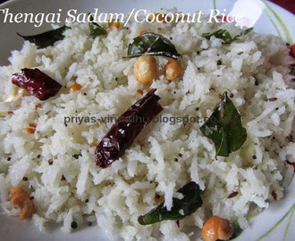 Thengai Sadam/Coconut Rice - South Indian Special