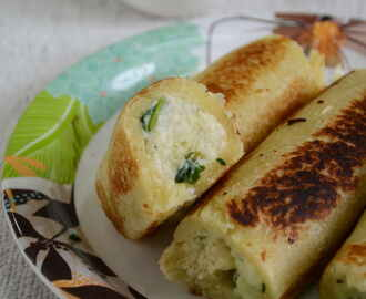 Bread Paneer Rolls Recipe – Easy Snack Recipes