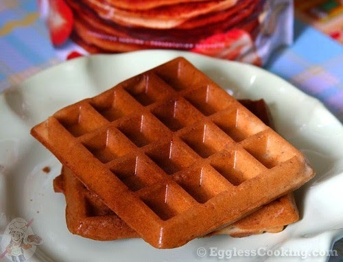 The BEST Gluten Free, Vegan Vanilla Waffles