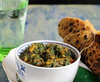 Palak Bhaji,Spinach Stir Fry- Grandma's Treasured Recipe