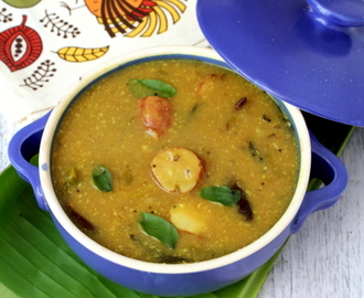 Chilakada Dumpa Pulusu ~ Andhra Style Sweet Potato Stew