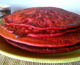 Tortitas Red Velvet, ¡sin colorantes artificiales!