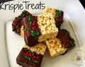 Krispie Treats, cubiertos de chocolate