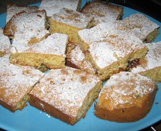 Blondies com arandos