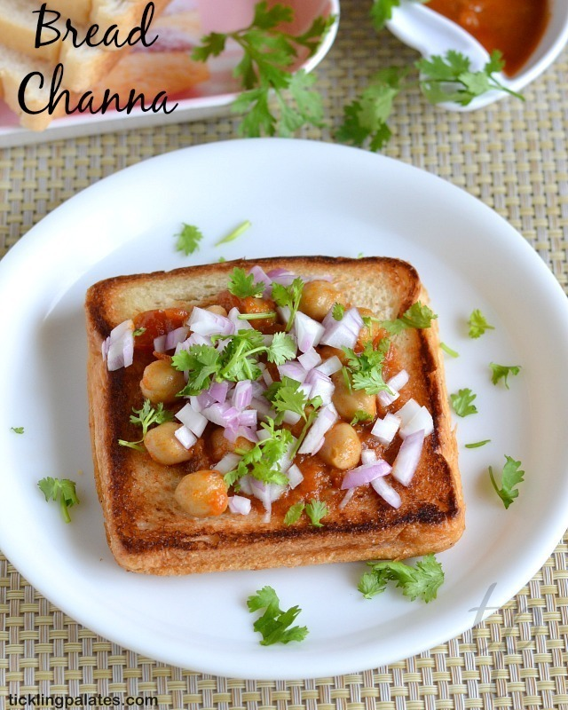 Bread Channa Recipe | Healthy Snacks Recipes