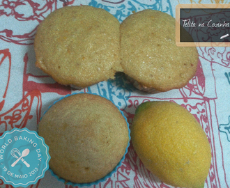 queques de limão | World Baking Day: Lemon Muffins by Hana Vichova