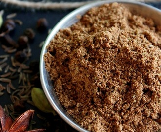 Homemade Garam Masala (All spice powder)