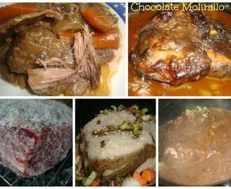 Roast Beef al estilo Chocolate Molinillo