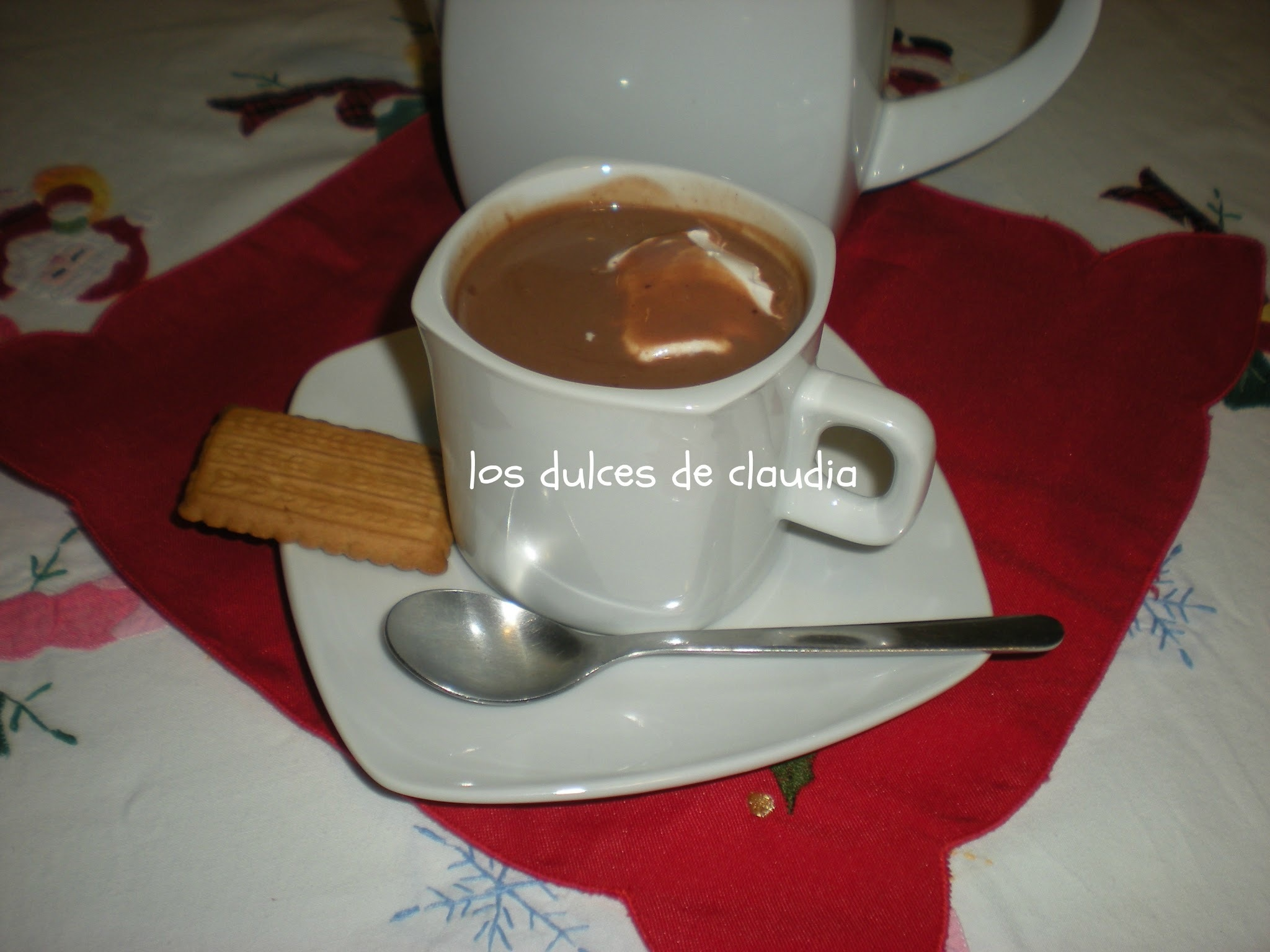Chocolate caliente
