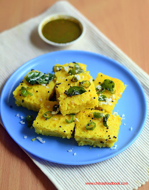Microwave Dhokla Recipe – How To Make Easy,Instant Khaman Dhokla