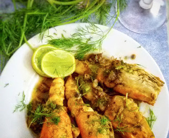 Lemon Butter Garlic Prawn
