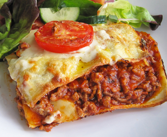 Quick and Easy Dinner - Lasagne