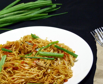 HAKKA NOODLES | VEGETABLE CHOW MEIN