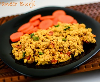 Paneer Bhurji | Spicy scrambled cottage cheese
