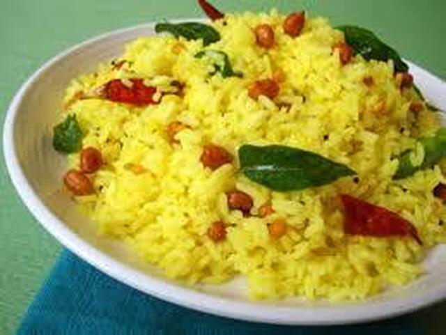 Lemon Rice - Simple South Indian Dish