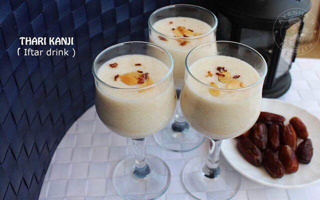 SWEET SEMOLINA DRINK / THARI KANJI - RAMADAN RECIPES FOR IFTAR