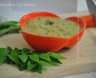 South Indian Style Vegetable Kurma…