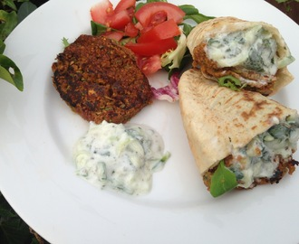 5:2 Diet Vegetarian Recipe: The world's fastest Spicy Bean Burgers