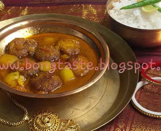 CHANAR DALNA........BENGALI STYLE PANEER KOFTA CURRY WITHOUT ONION GARLIC....