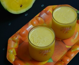 Yellow Watermelon Juice | Easy Summer Drink Recipe