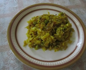 Spicy Cabbage curry Odia style