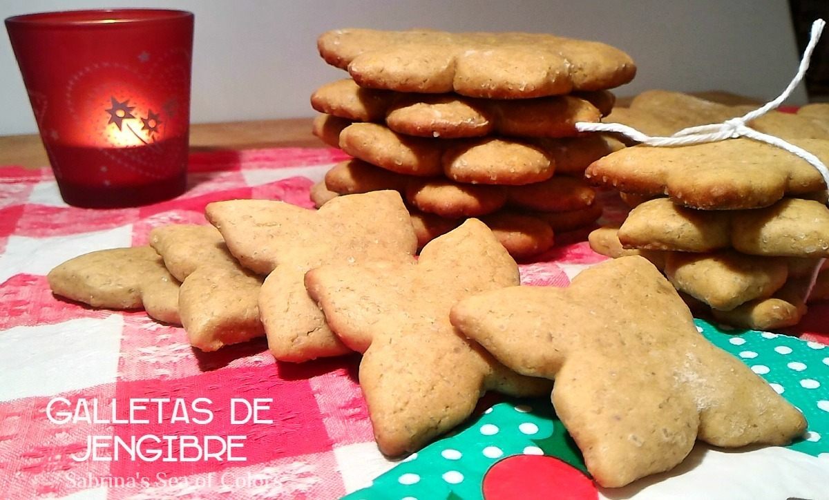 "Galletas de jengibre o ""gingerbread"""