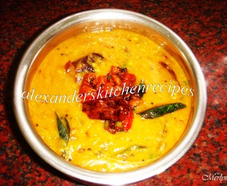 YELLOW PUMPKIN AND TUVAR DAL / SPLIT RED GRAM / YELLOW LENTIL TADKA  ( HALLOWEEN SPECIAL )