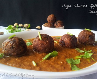 Spicy Soyachunks Koftas In A Creamy Gravy