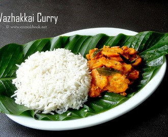 Vazhakkai Curry | Ezcookbook