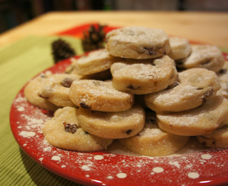Christmas Cookies with Rum Soaked Fruit