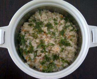 Healthy Breakfast: Daliya (Broken Wheat/Lapsi) Upma
