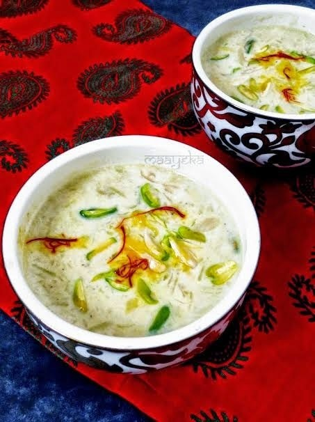 LAUKI KI KHEER (BOTTLE GOURD KHEER): GUEST POST BY ANJANA CHATURVEDI