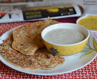 Instant Oats Dosa - Breakfast Recipe